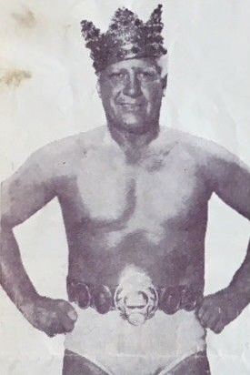 Blassie in the early 1960s Fred Blassie - Olympic Auditorium Wrestling News 31 January 1962.jpg