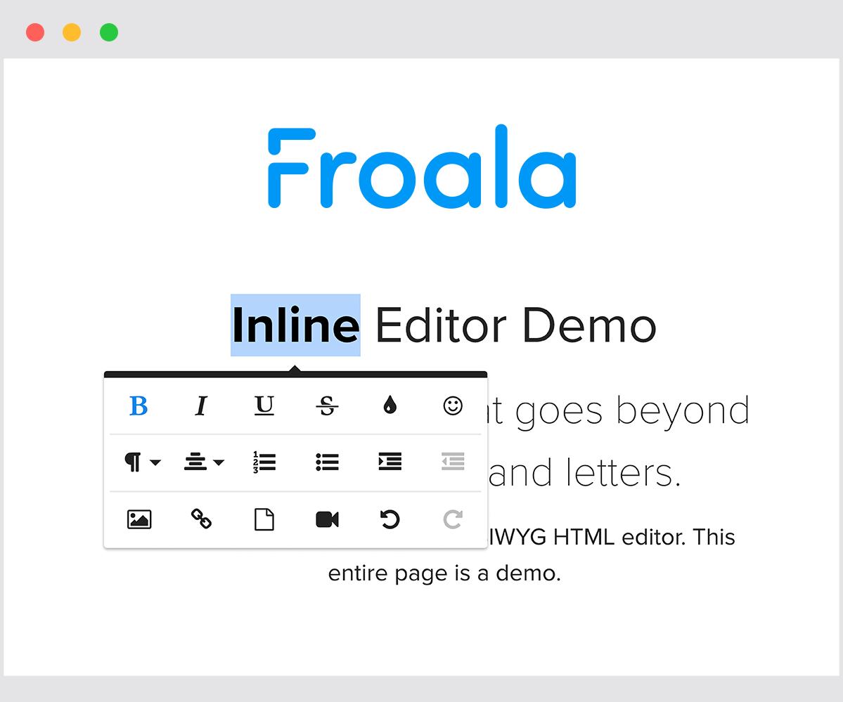 froala editor wikipedia