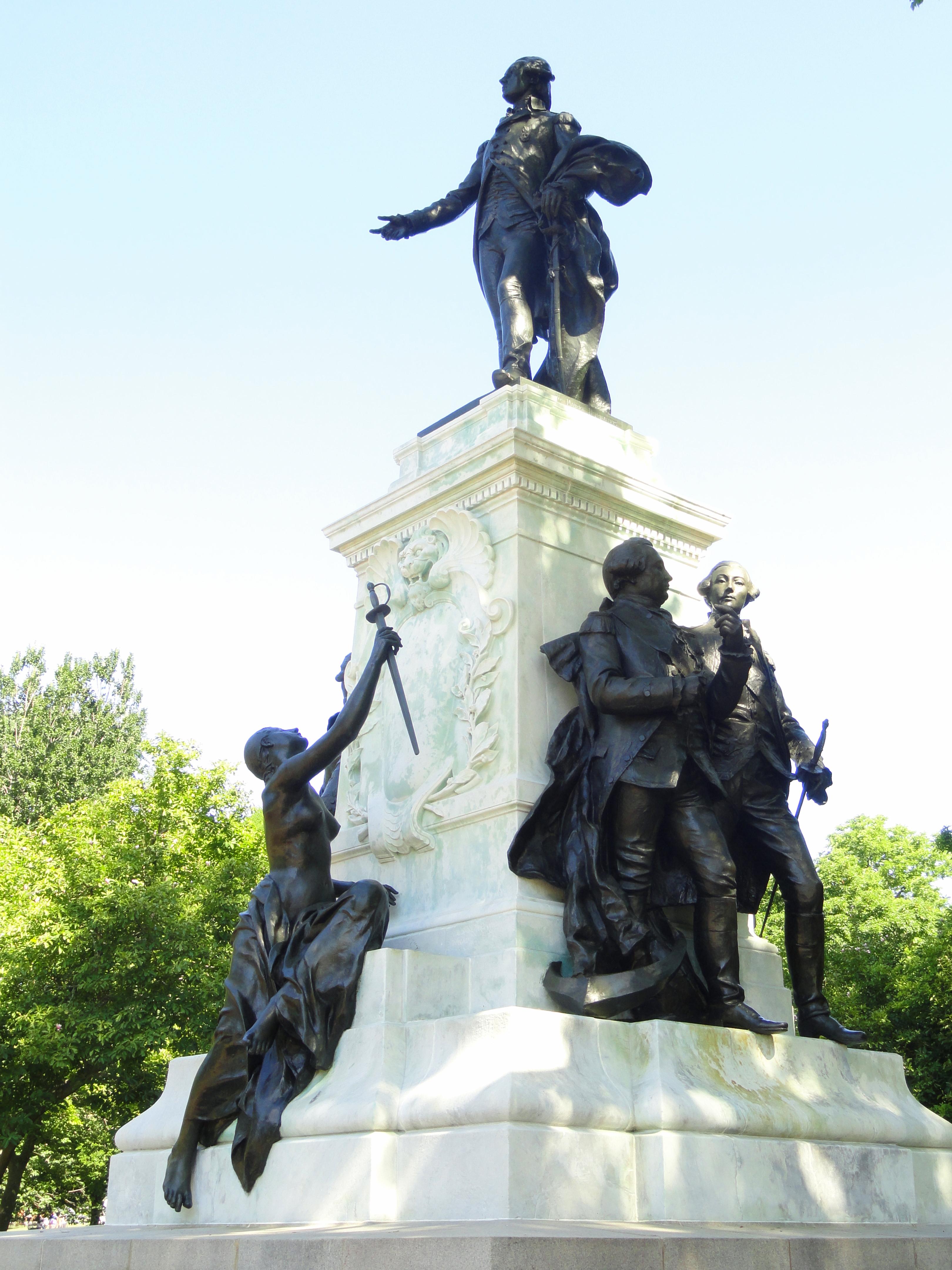File general lafayette statue washington d c