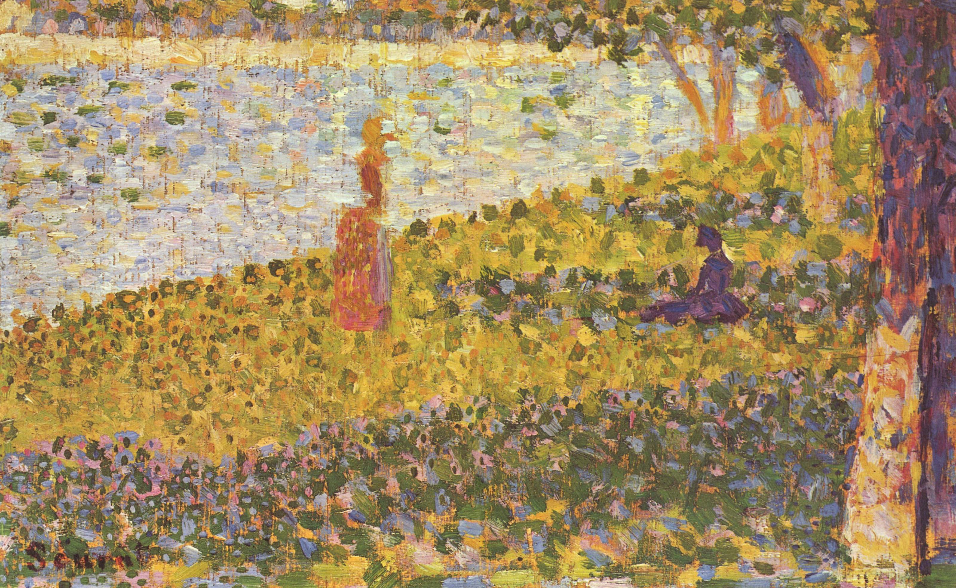 a biography of georges pierre seurat a painter