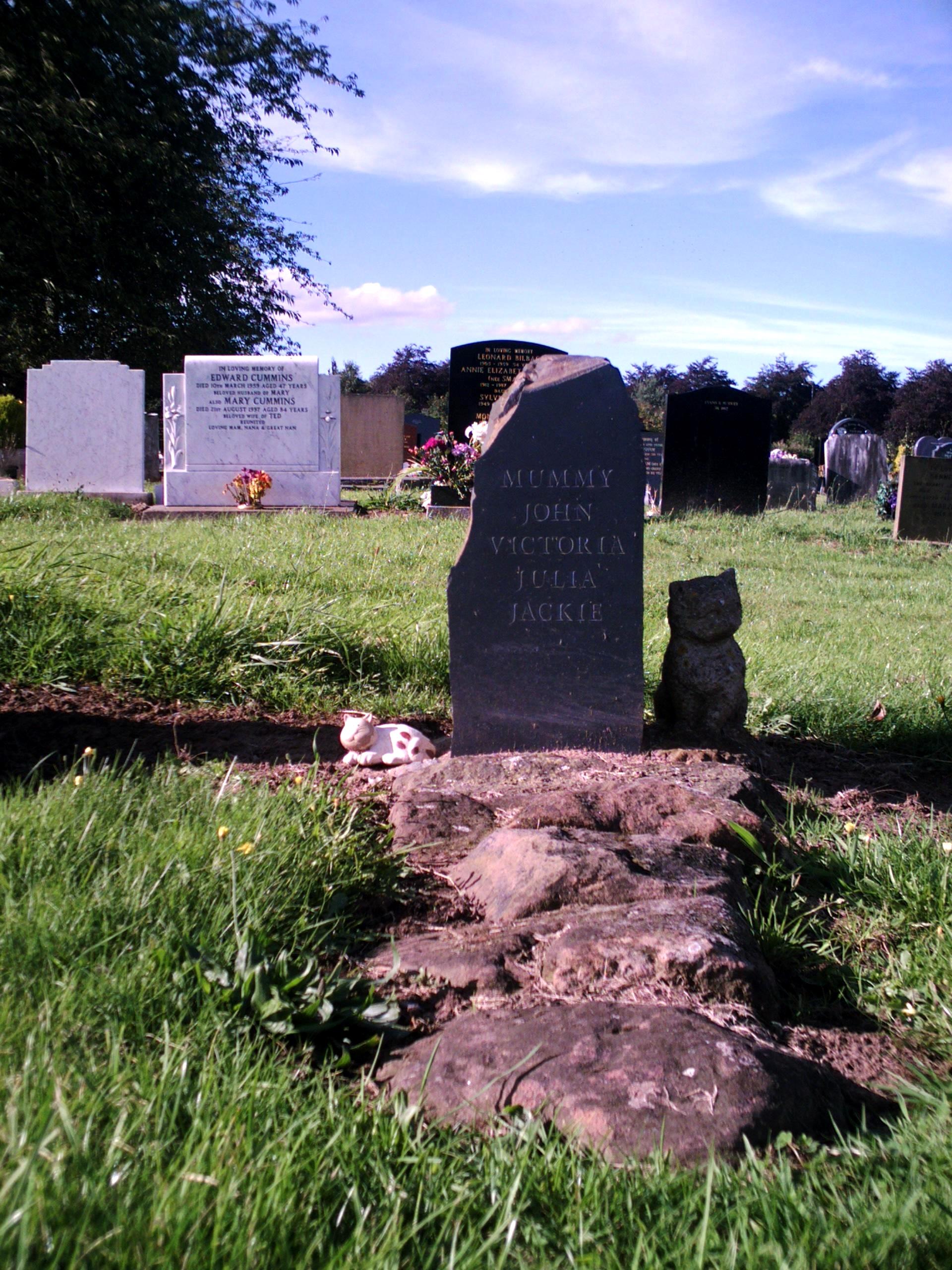 File Grave Of Julia Lennon Jpg Wikimedia Commons