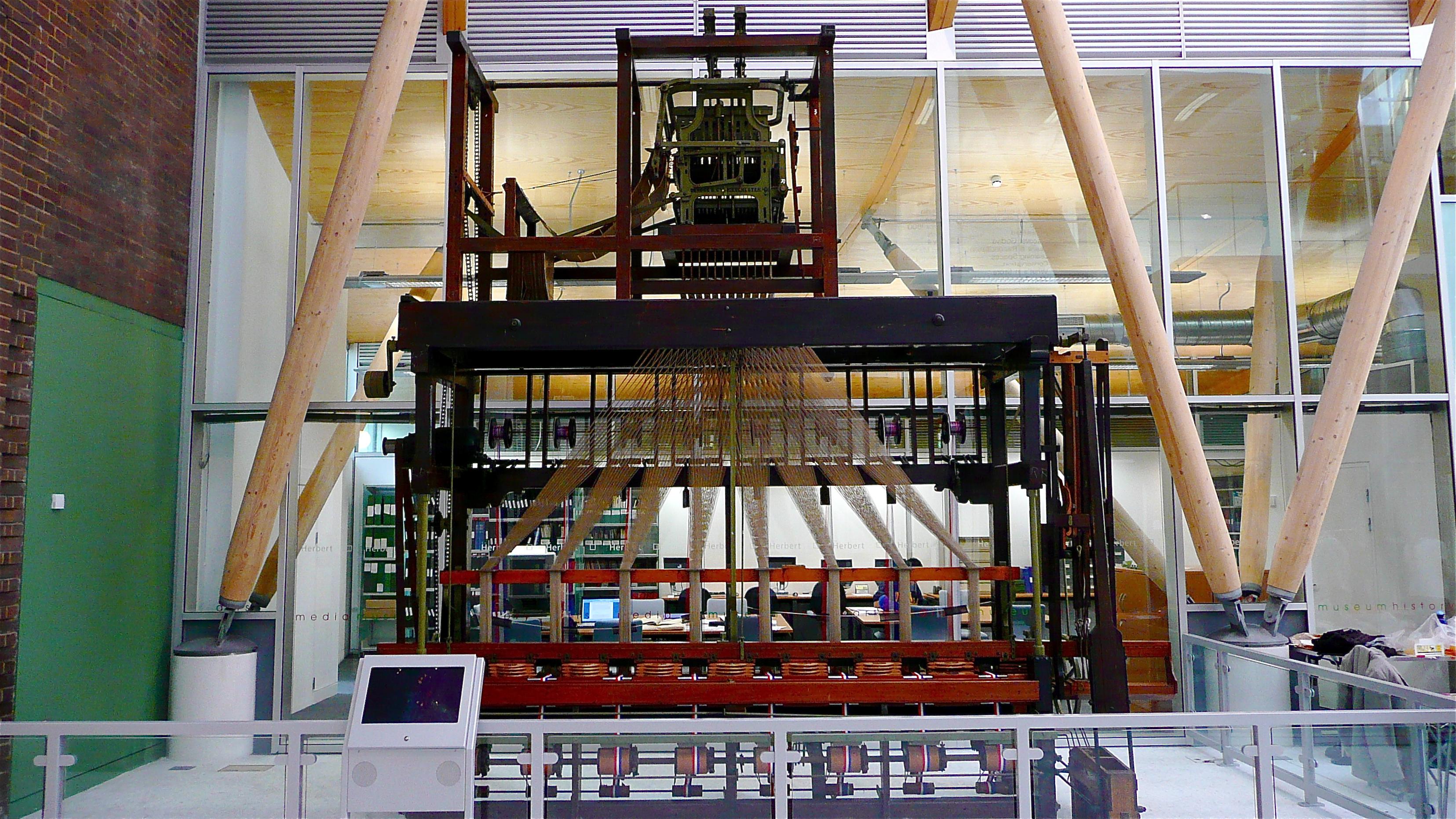 File:Herbert Art Museum and Gallery, Coventry - Jacquard loom.jpg
