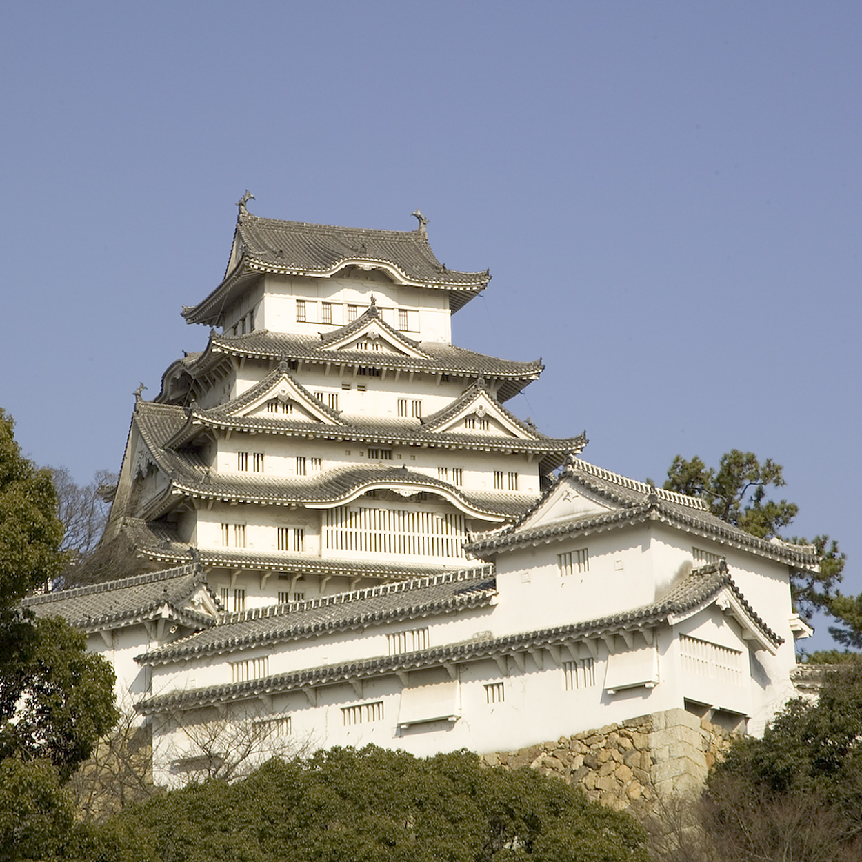 Himeji-lo castel. Maintained with a cyclic rebuild, over and over again.