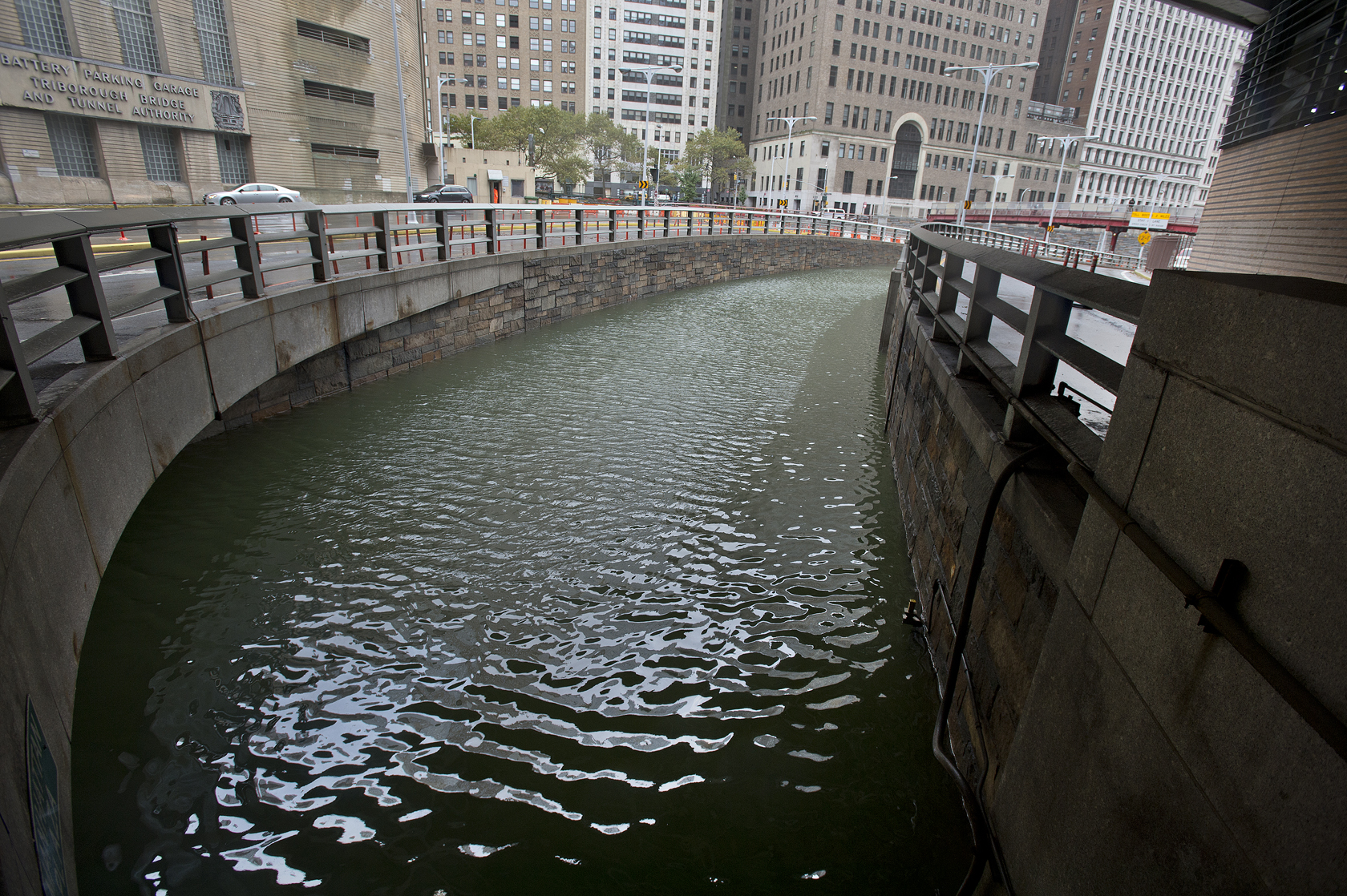Midtown Tunnel Flooded Tunnel Flooded