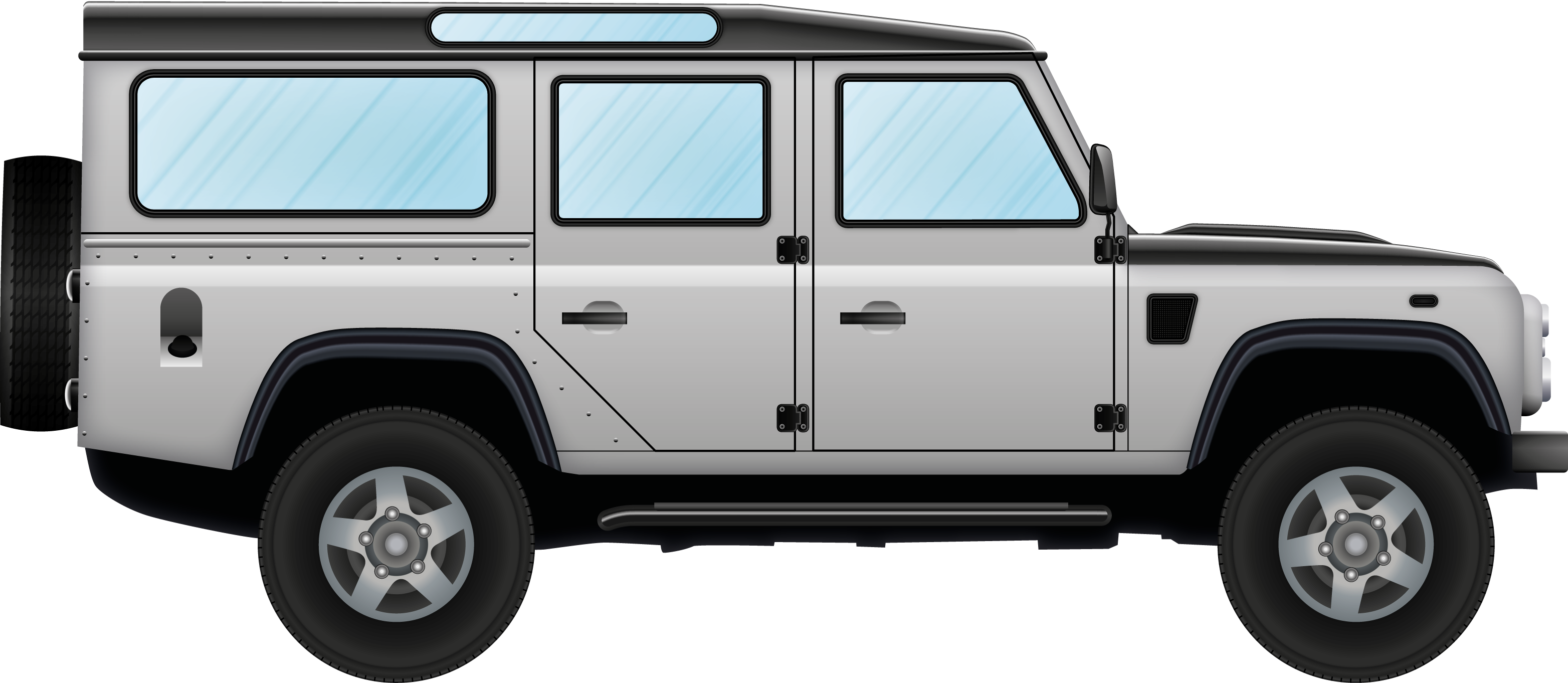 Land Rover Defender 2014 >> File:Illustration of on off-road automobile.png - Wikimedia Commons