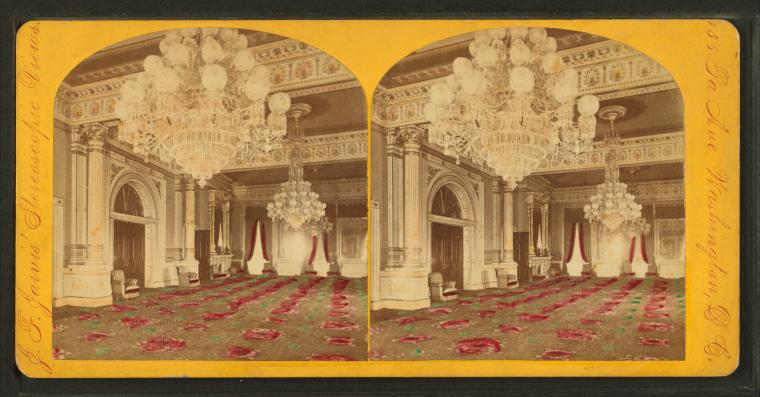 Fileinterior view of the white house by jarvis j f for The white house interiors