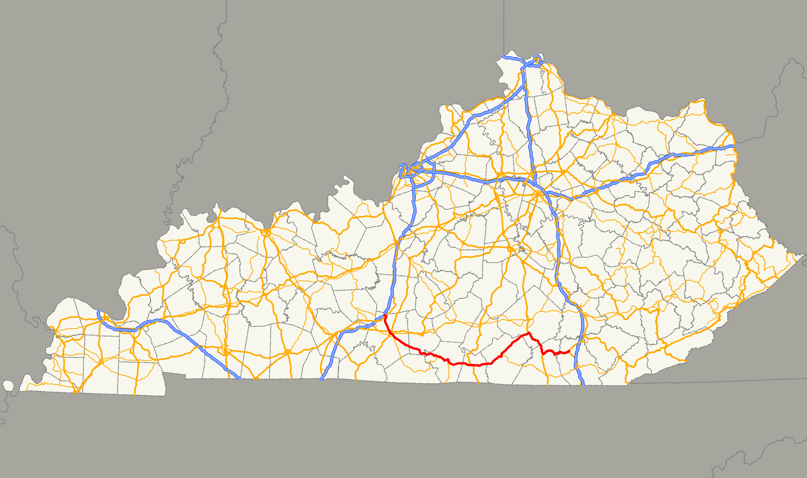 Kentucky Route 90 - Wikipedia on map of blue ridge parkway in virginia, map of bluegrass parkway, road maps of muhlenberg county ky, map of i-75 in ky, city of campton ky, map of i-65 in ky, mountain towns in ky,