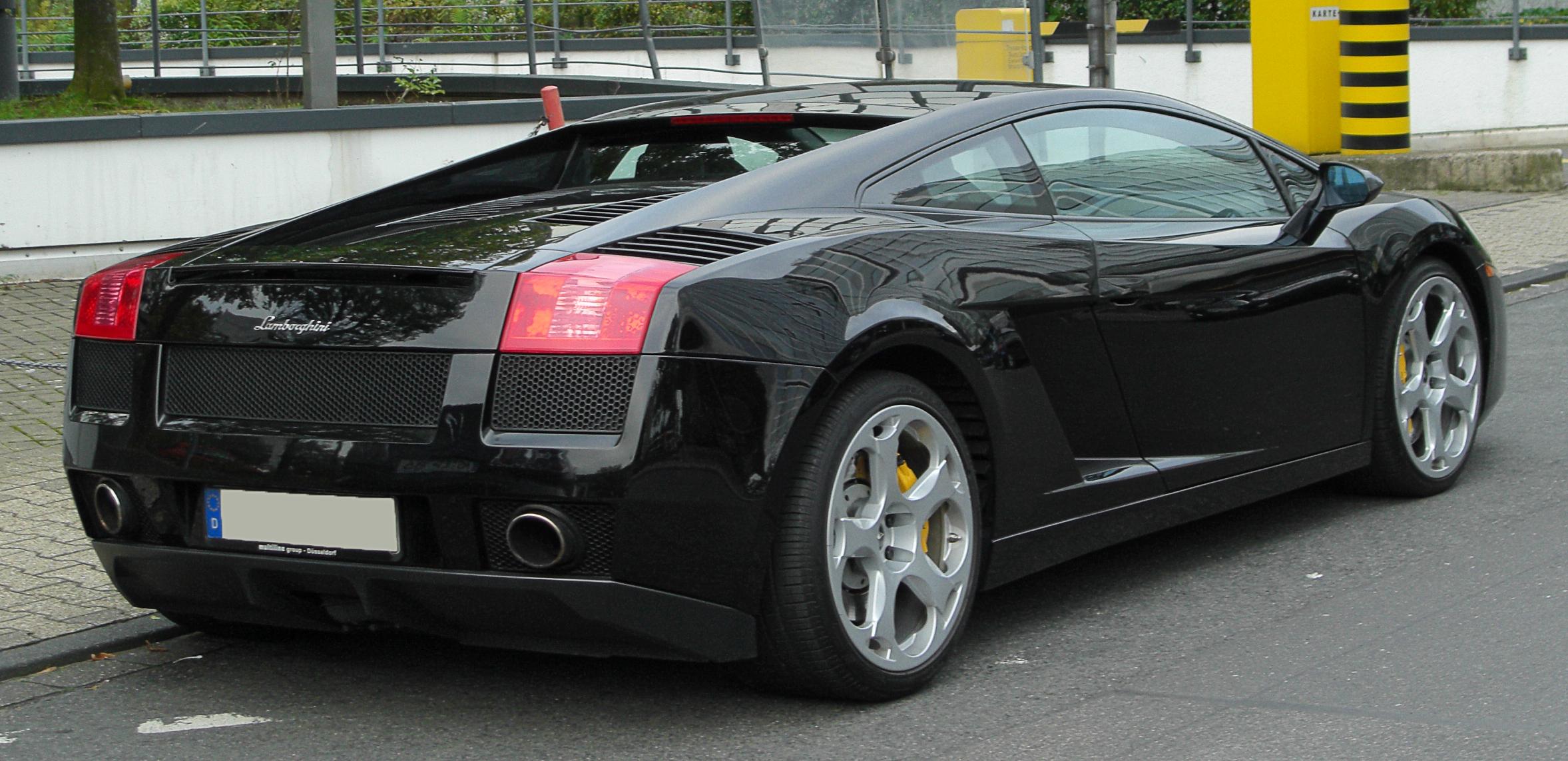 Lamborghini Information >> File:Lamborghini Gallardo Coupé rear 20101002.jpg - Wikimedia Commons