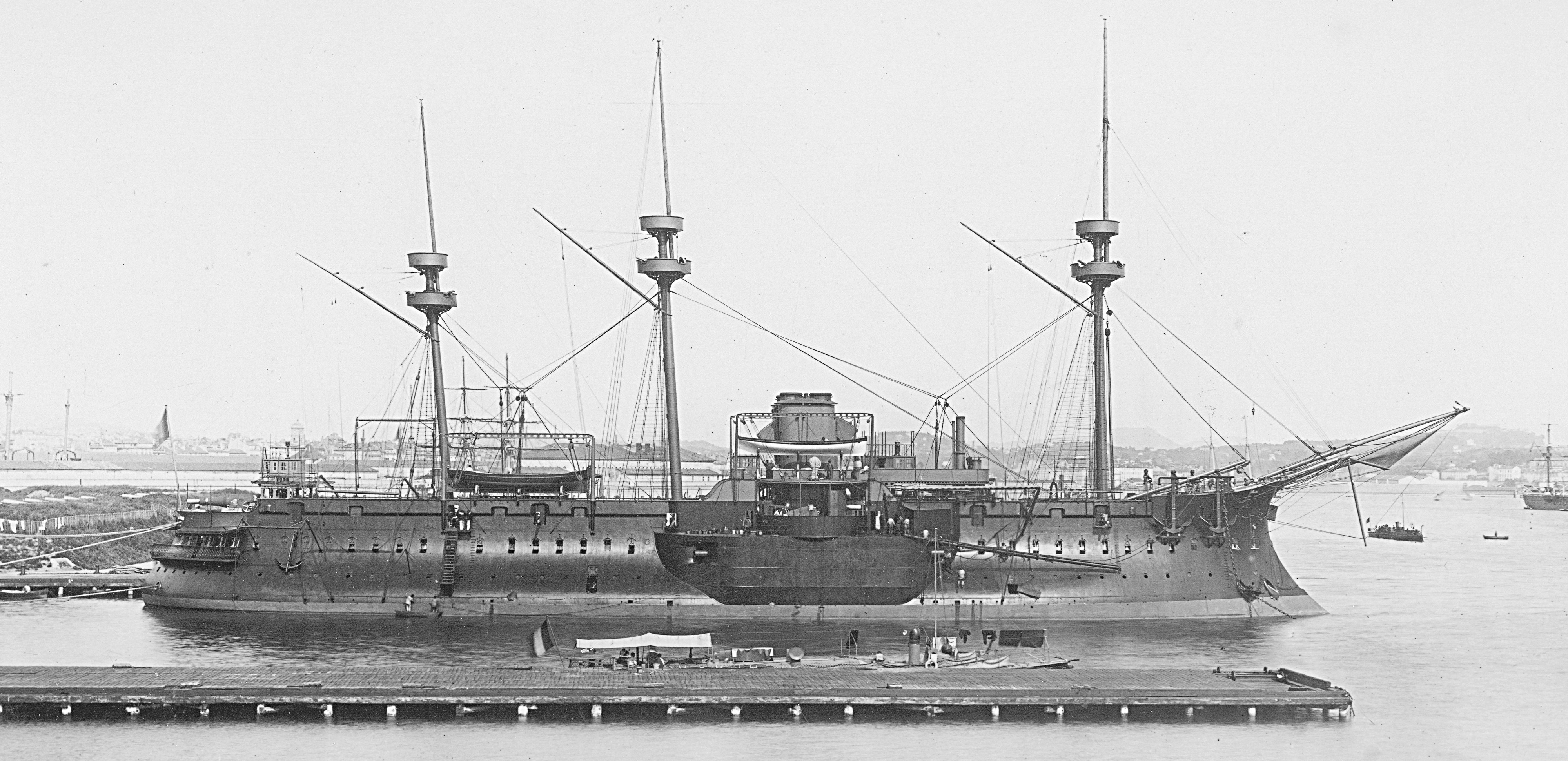 French ironclad Redoutable - Wikiwand