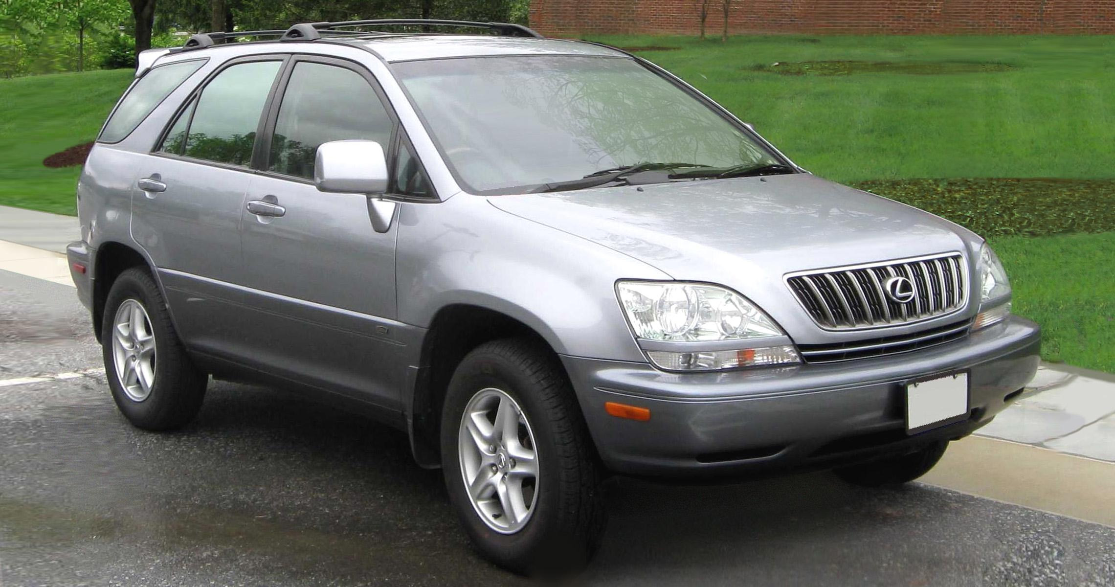 File Lexus Rx300 Side Jpg Wikipedia