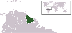 A map of Dutch Guiana 1667–1814