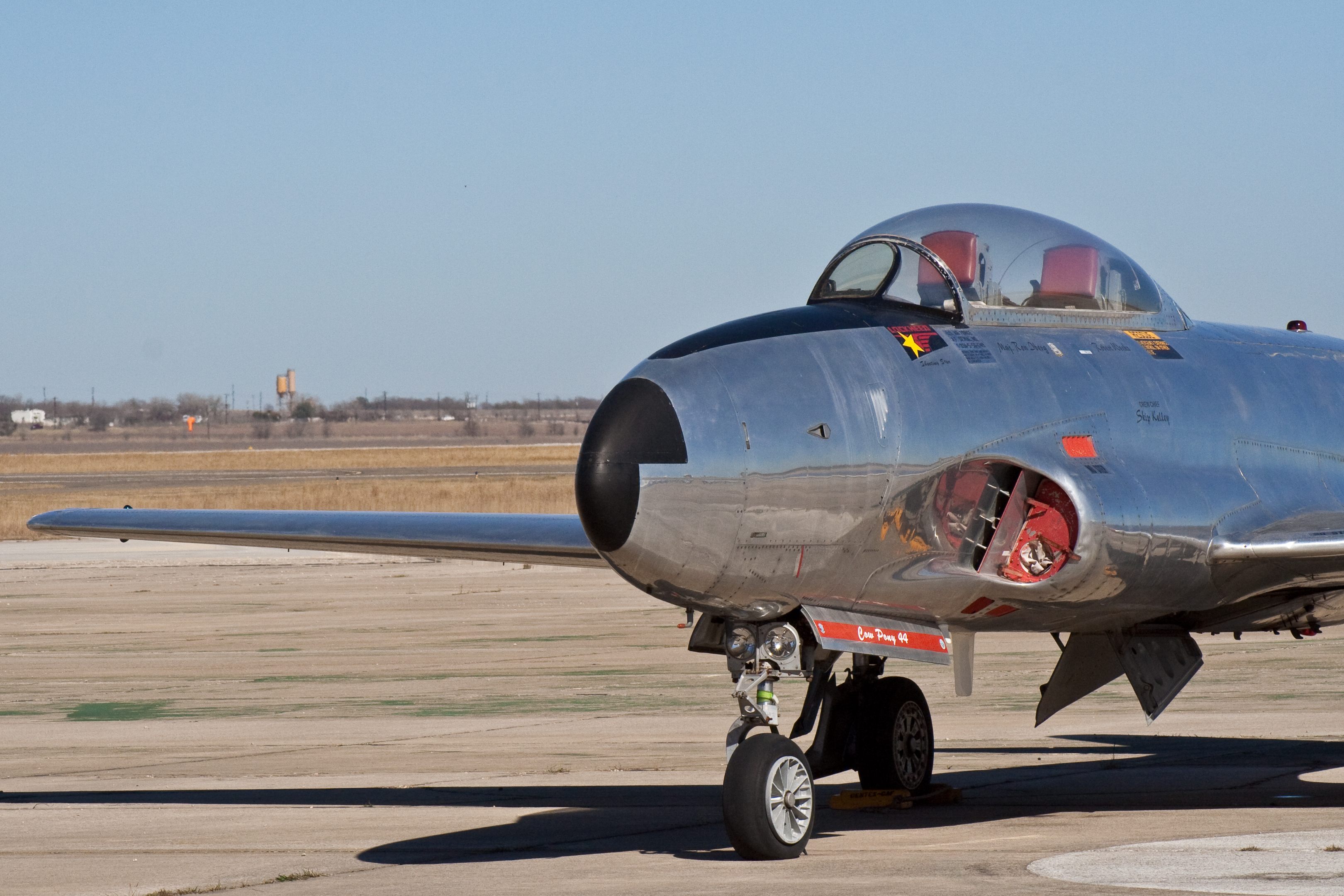 file lockheed t 33 shooting star caf centex wikimedia commons. Black Bedroom Furniture Sets. Home Design Ideas