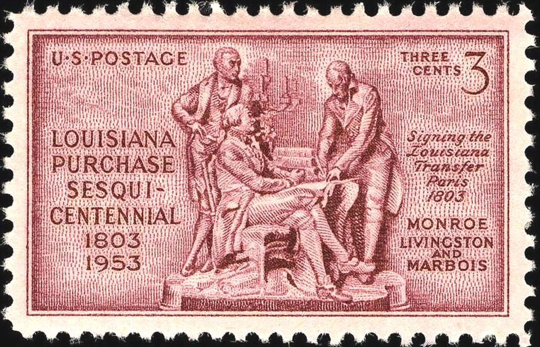 stamp, 100 years of the purchase