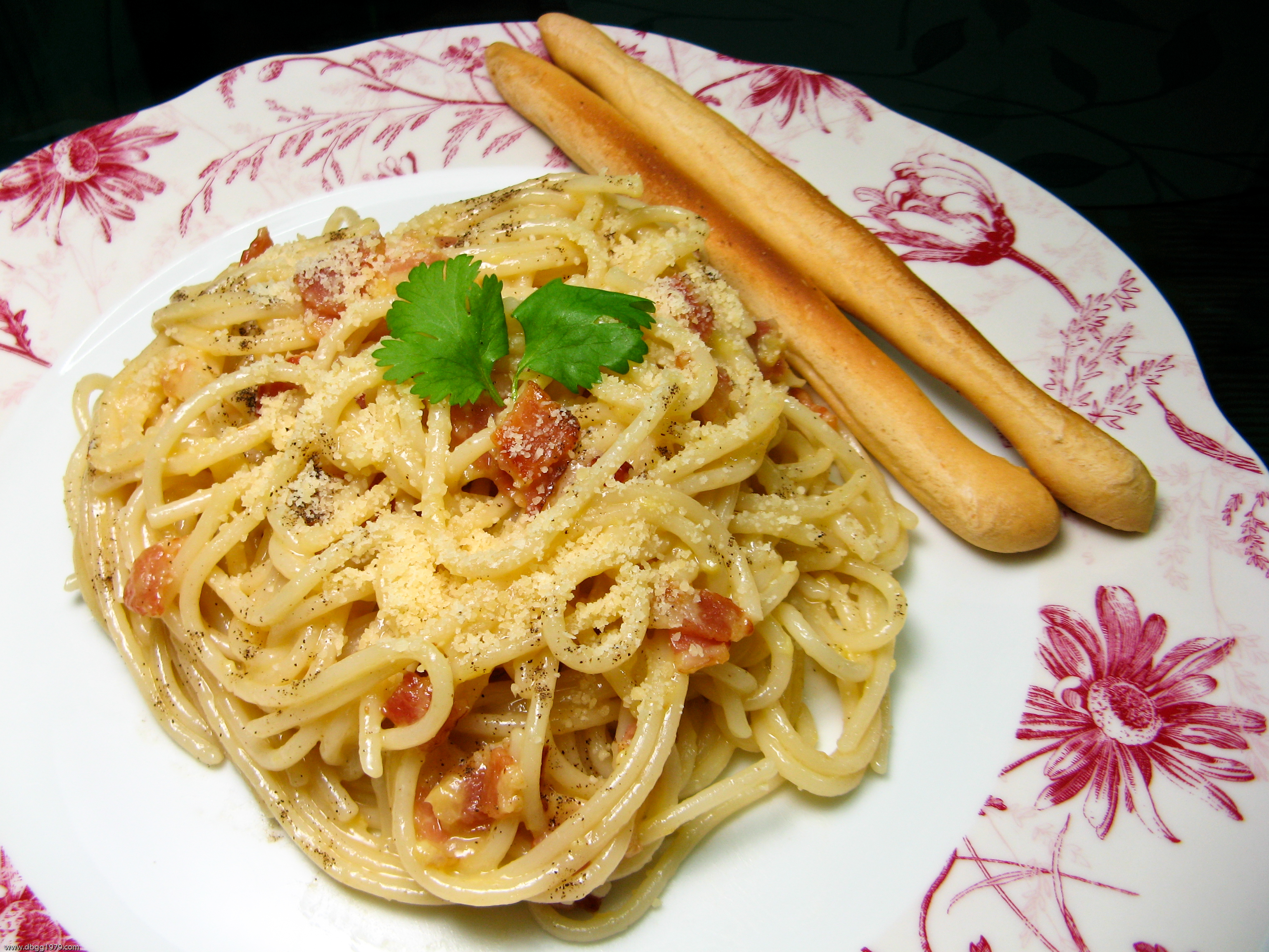 Filelutong Bahay Pasta Alla Carbonarajpg Wikimedia Commons