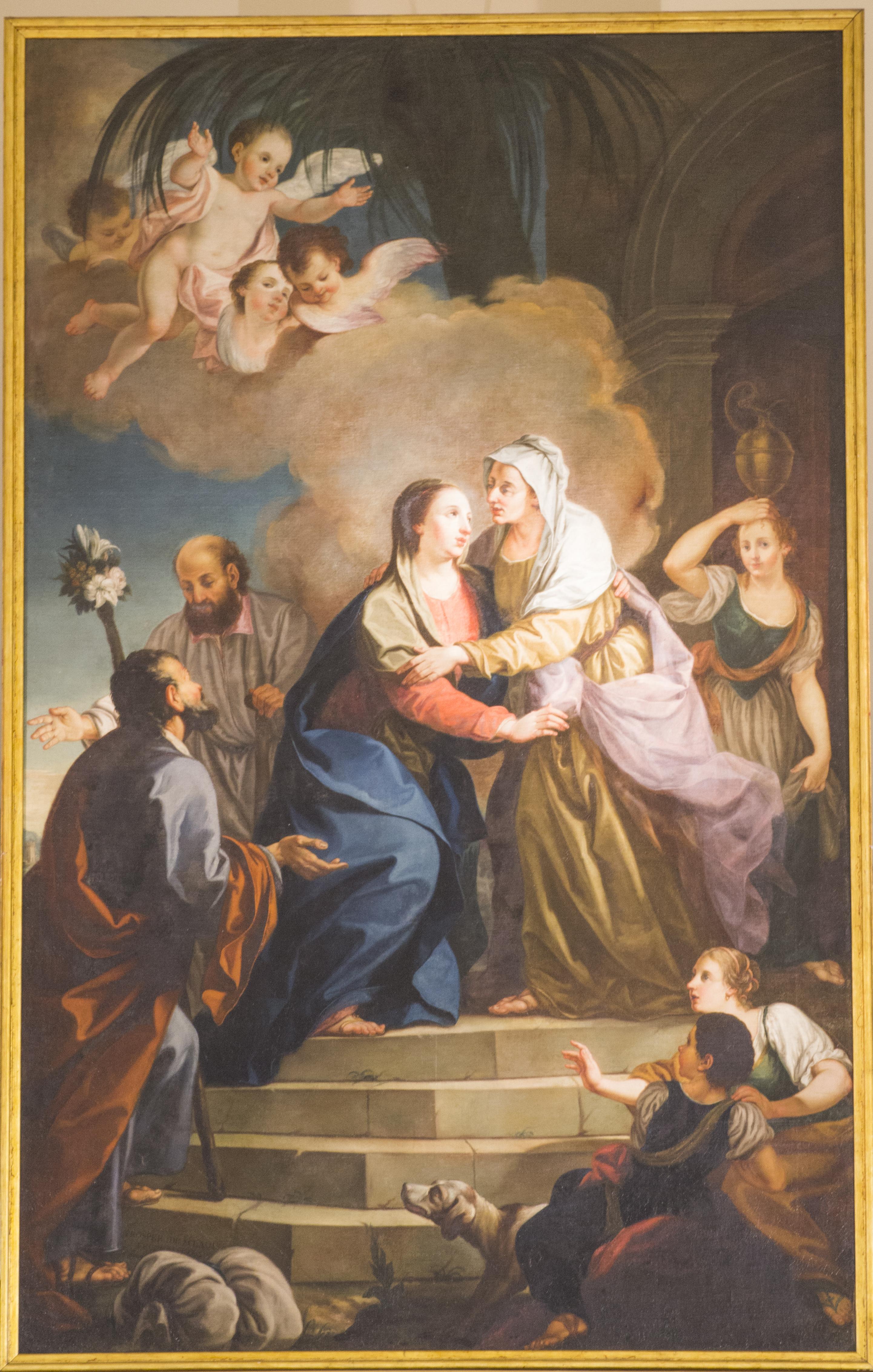 Risultati immagini per maria santissima visita santa elisabetta