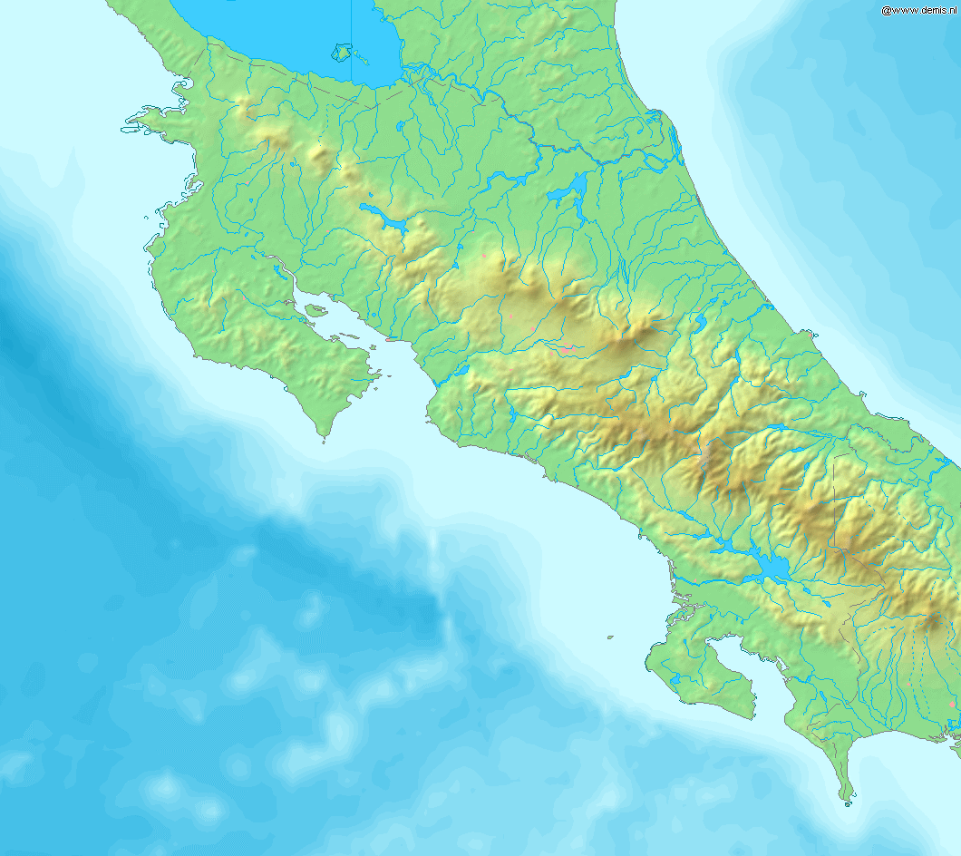 FileMap of Costa Rica Demispng Wikimedia Commons