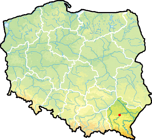 File Map Of Poland Rzeszow Png Wikimedia Commons
