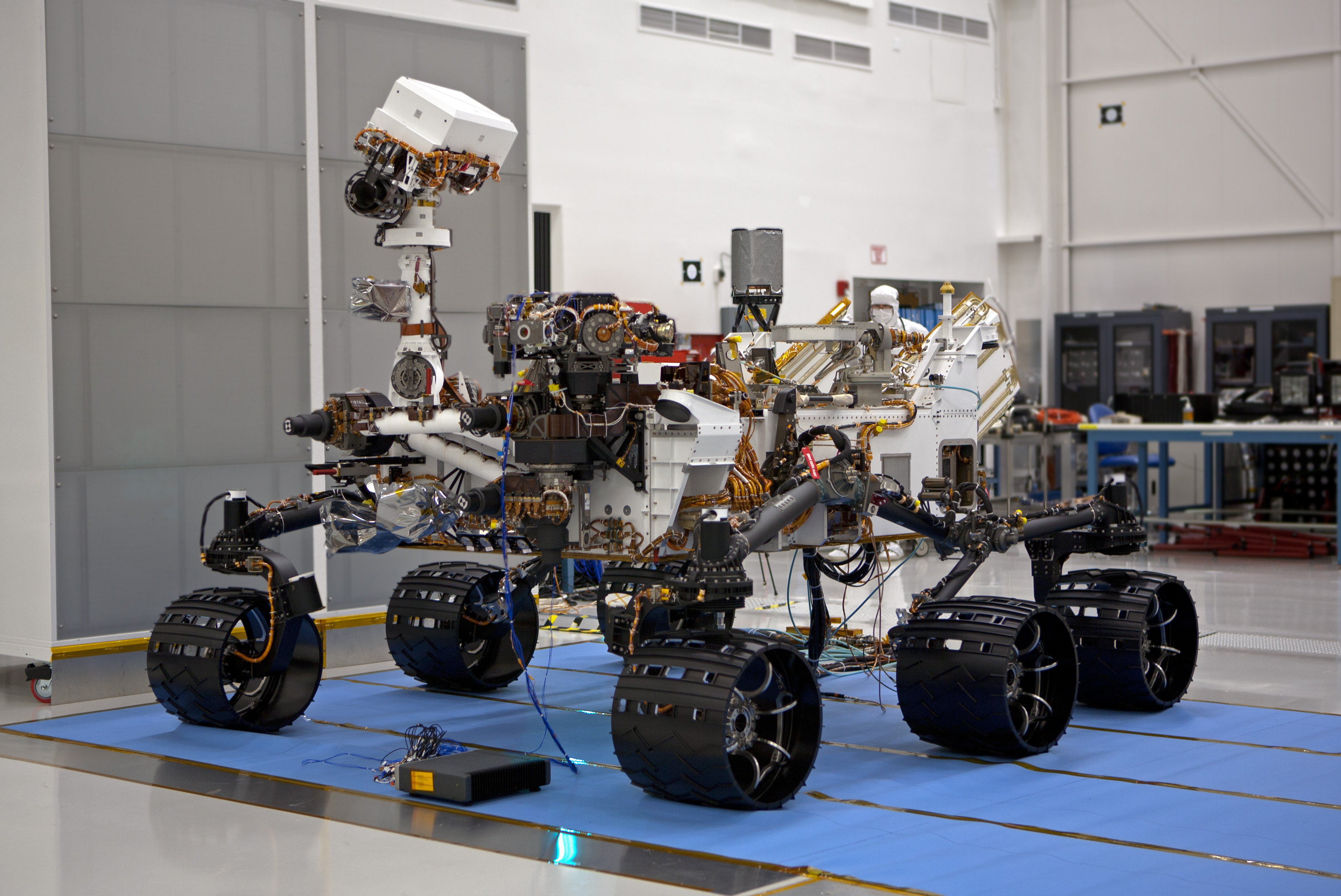 File Mars Curiosity Rover Spacecraft Assembly Facility Pasadena