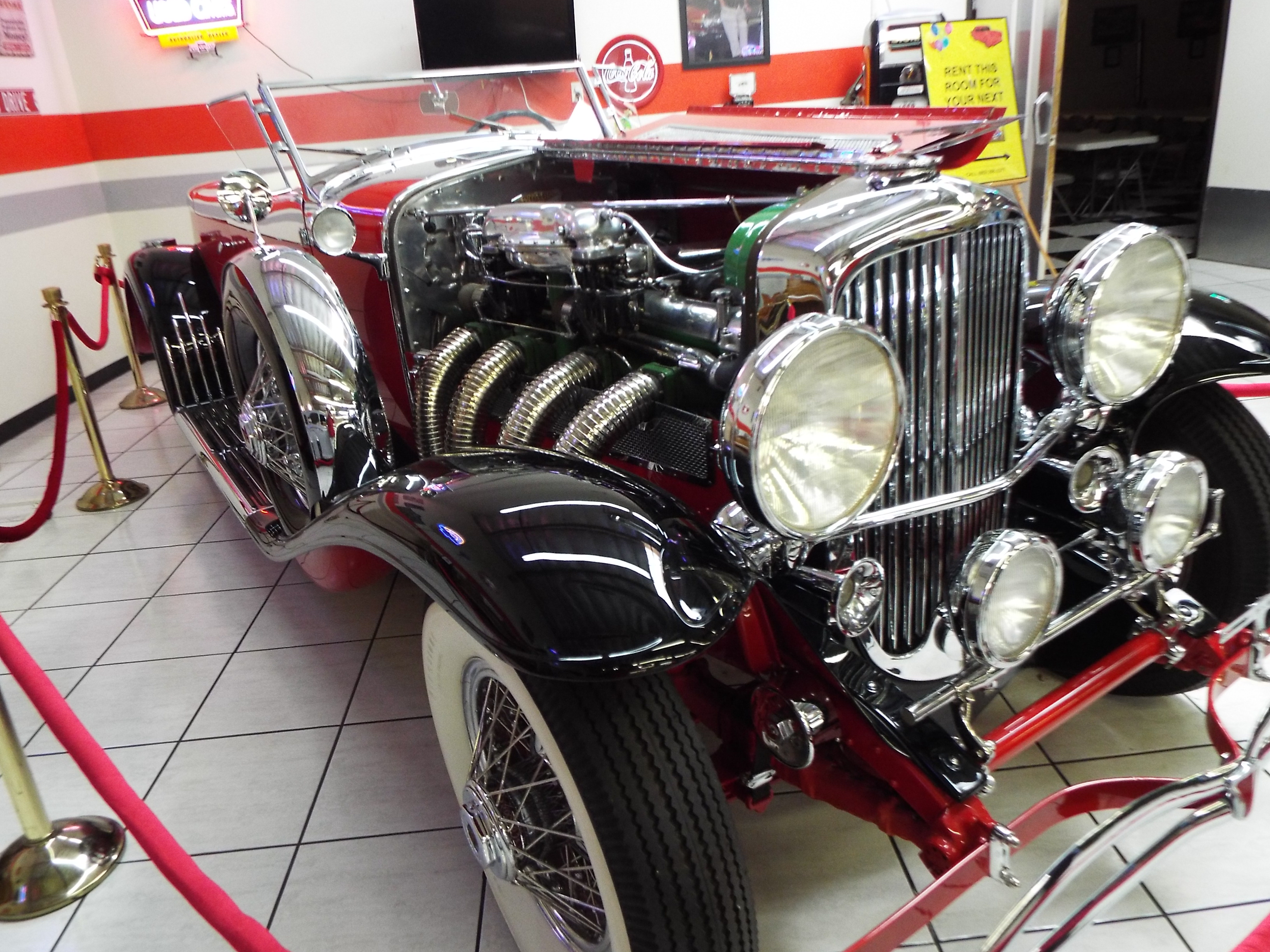 File Martin Auto Museum 1930 Duesenberg Boattail Speedster Jpg