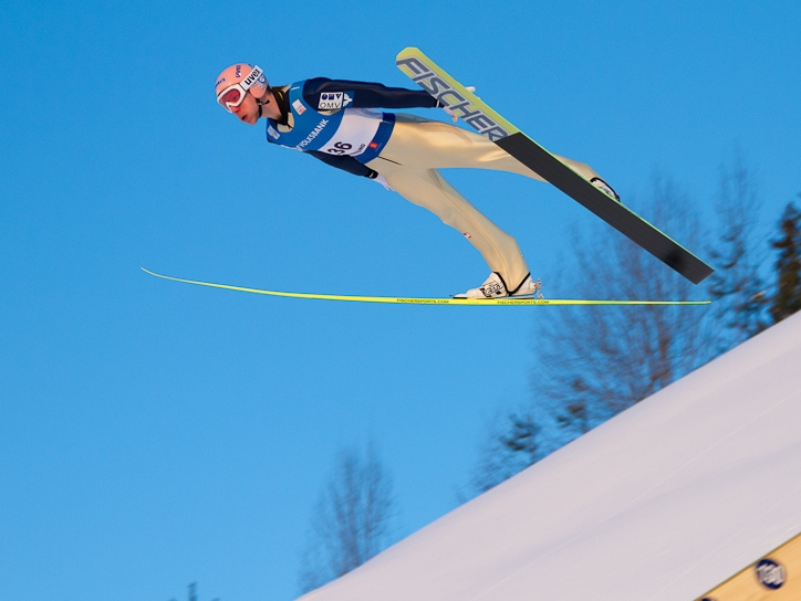 Прыжки на лыжах с трамплина Википедия