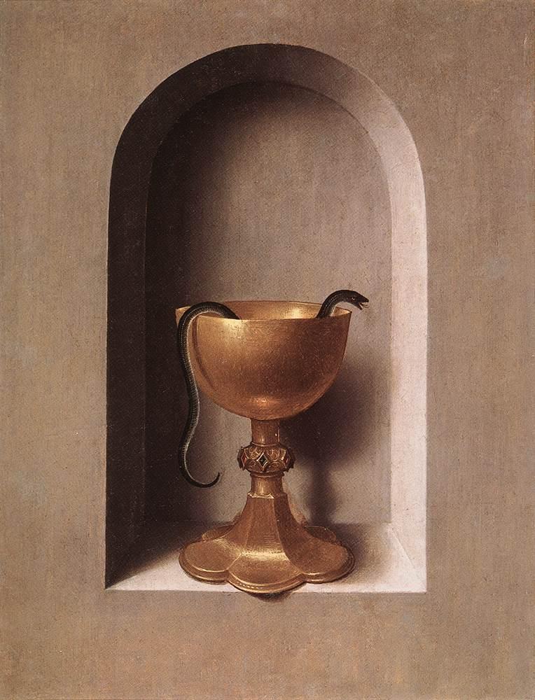 Revers dret del díptic de sant Joan Evangelista