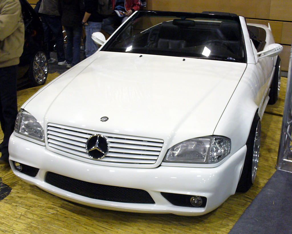 Mercedes benz r129 for Mercedes benz tuning