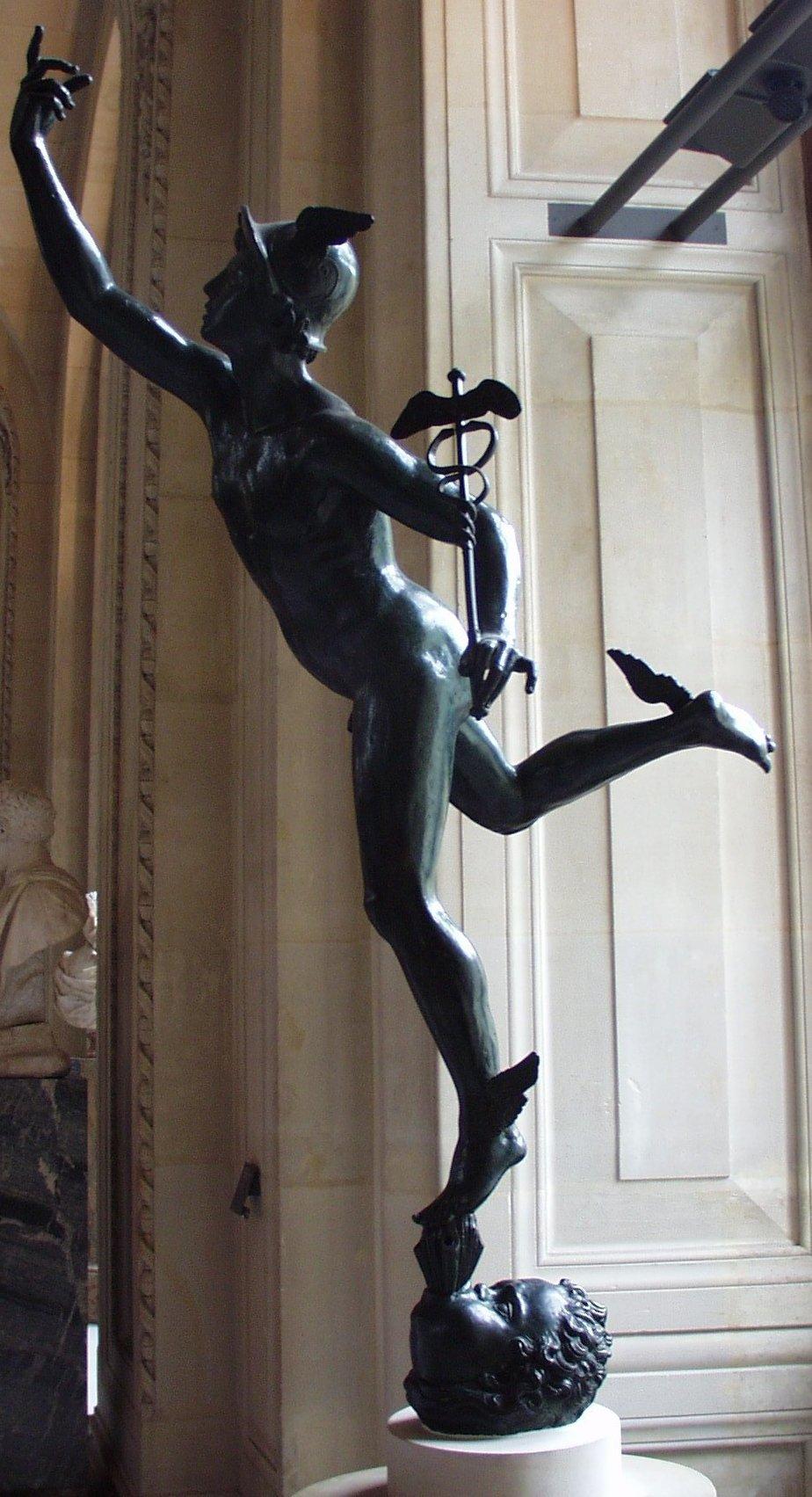 Giambologna Mercure_volant_of_Giambologna,_Louvre,_Paris