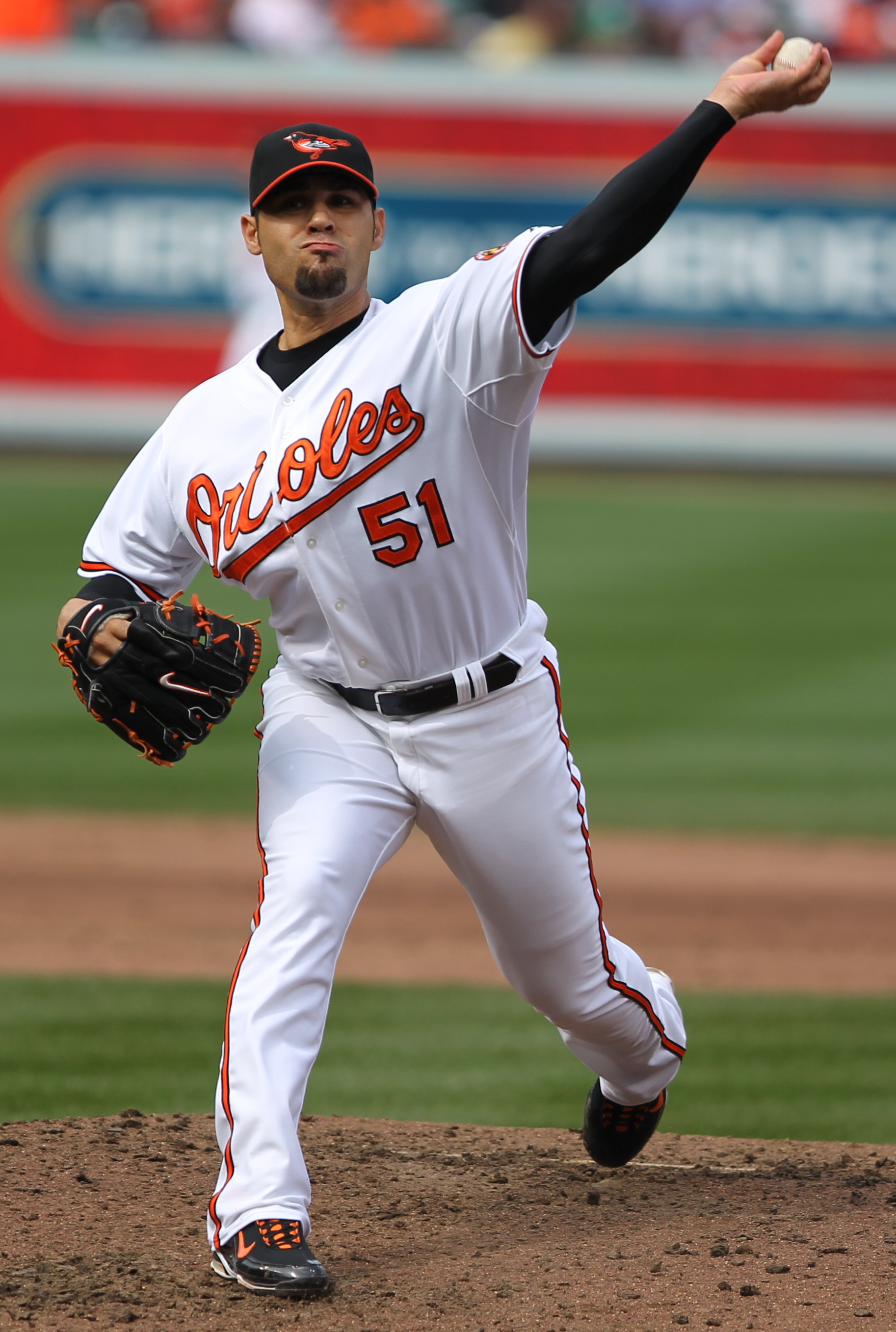Gonzalez with the Baltimore Orioles