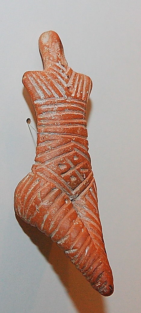 Cucuteni fertility goddess