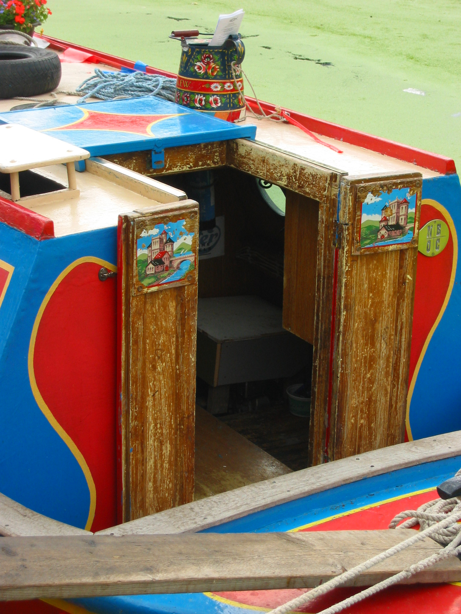 File narrowboat wikimedia commons for Decoration yacht