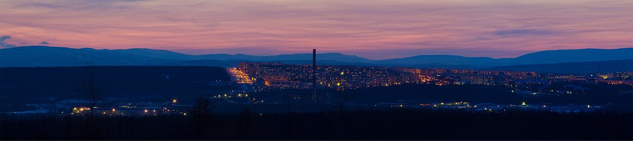 Ночная панорама города