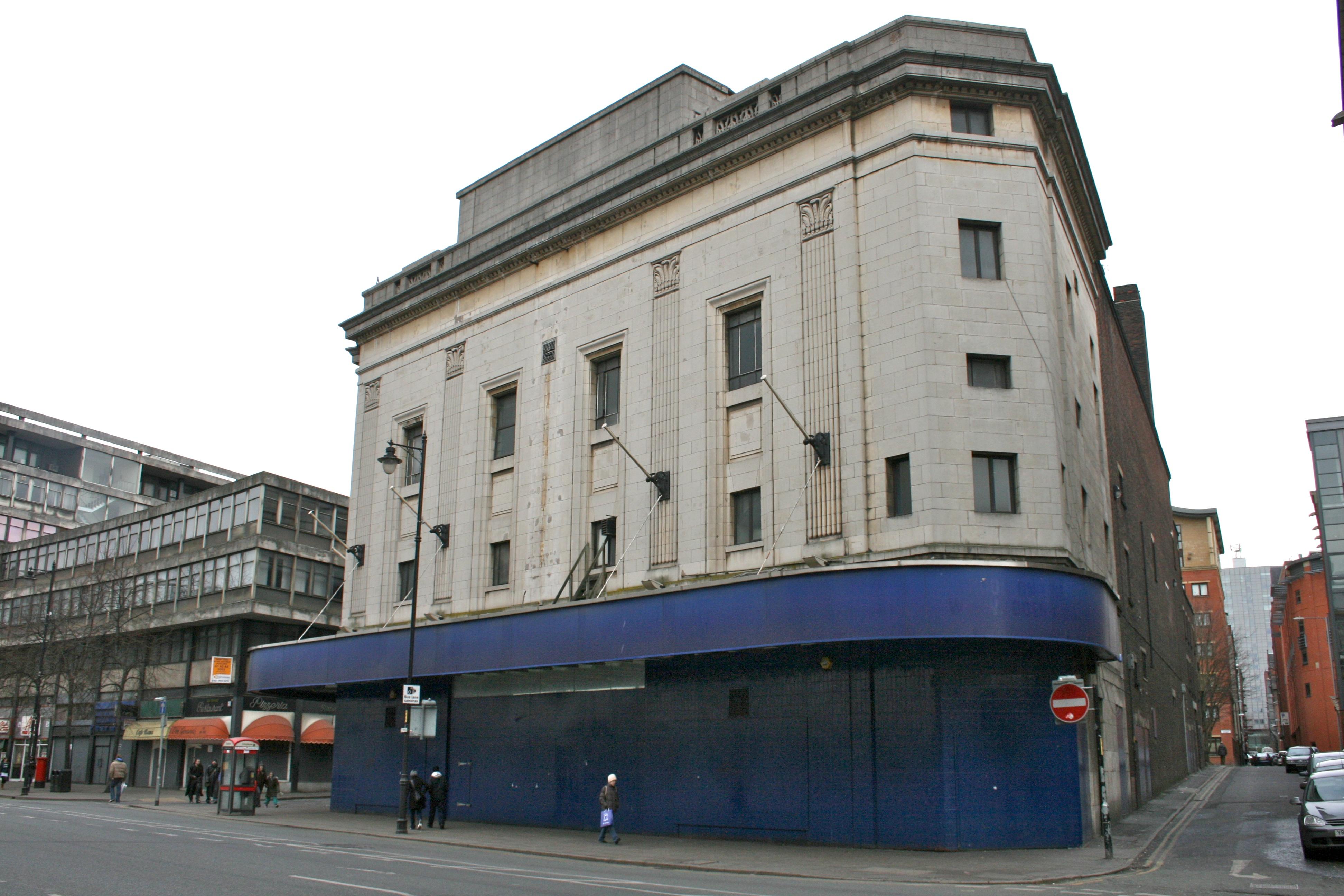pretty nice 14b24 e27ca Odeon Cinema, Manchester - Wikipedia