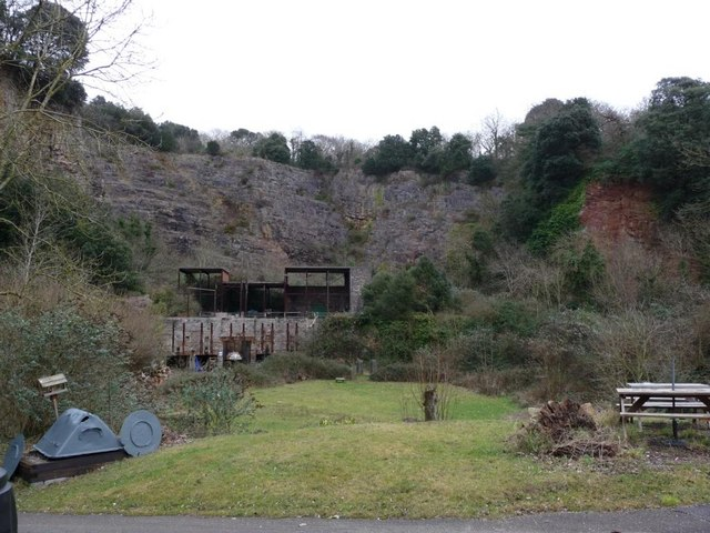 Old Town Quarry, Weston Super Mare - geograph.org.uk - 1555125