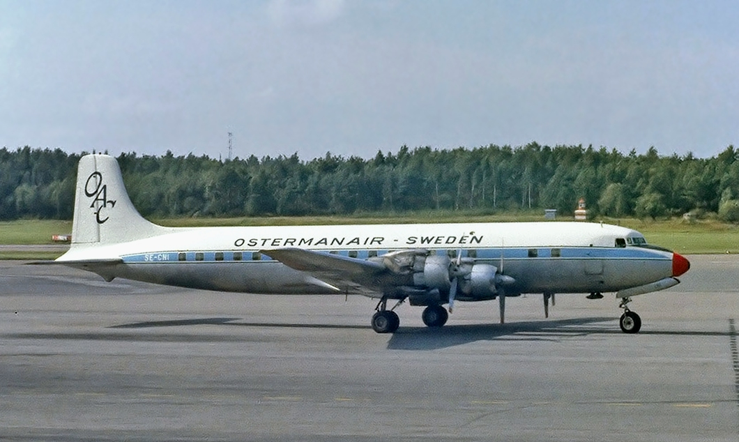 Osterman Air Charter Douglas DC-7 Soderstrom