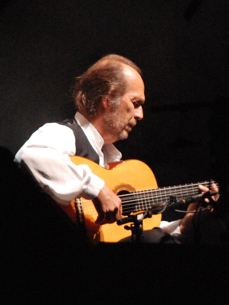 Paco de Lucía en 2007.