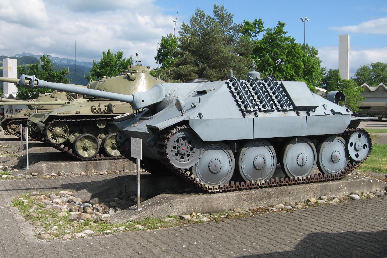 Фото танка хетцер