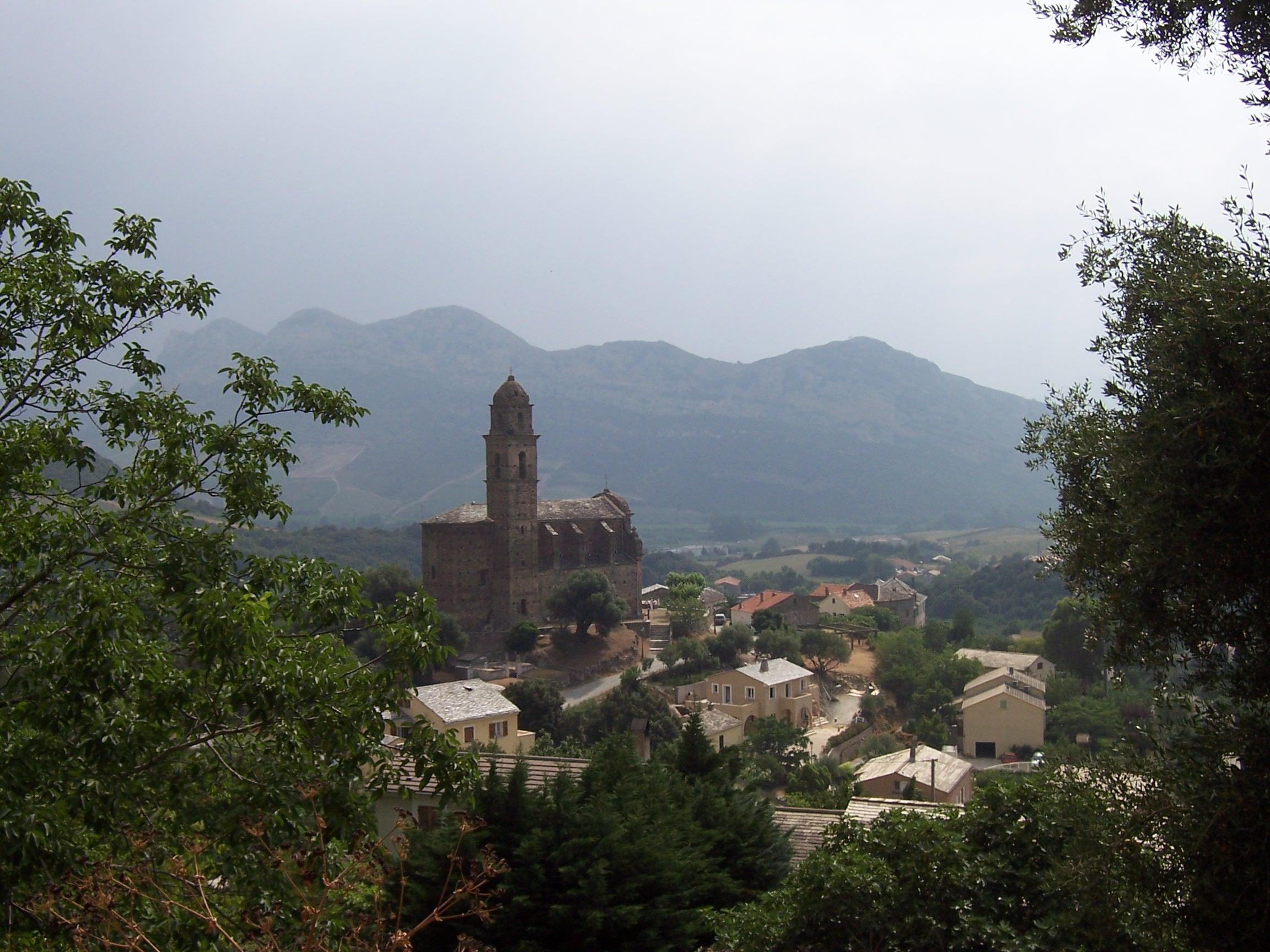 Carte Corse Barbaggio.Patrimonio Wikipedia