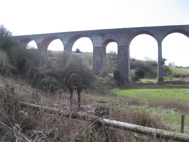 Pensford railway viaduct - geograph.org.uk - 717278