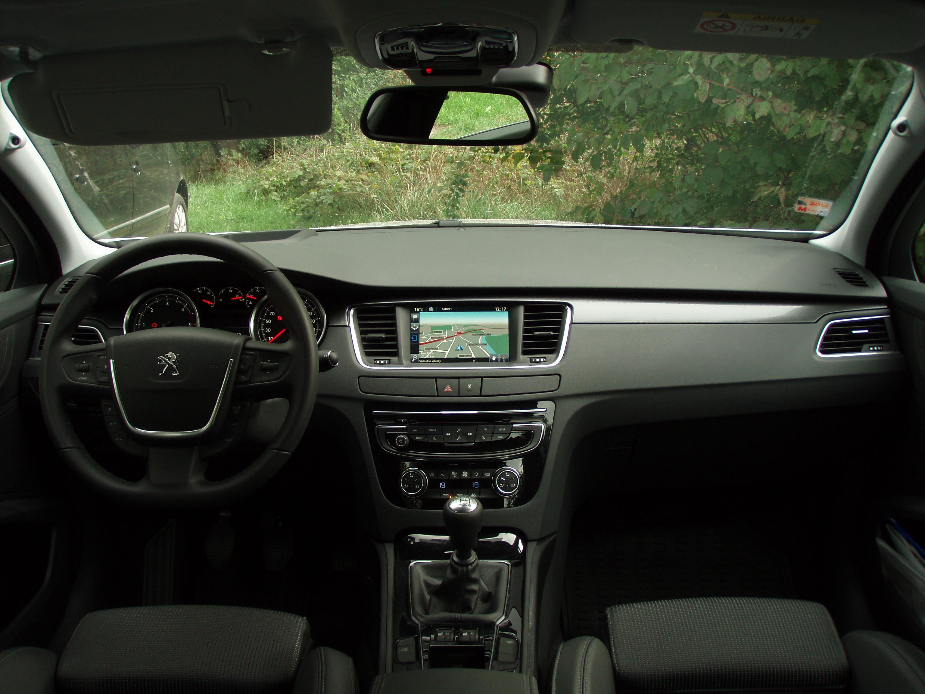 File peugeot 508 facelift interior 5 jpg wikimedia commons - Interior peugeot 508 ...