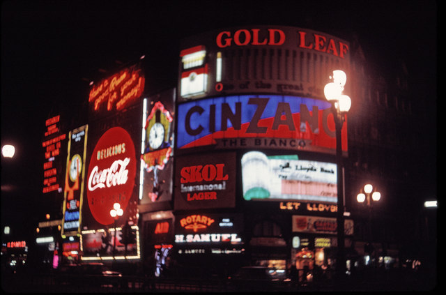 file piccadilly circus  london  taken in 1969 - geograph org uk - 711193 jpg