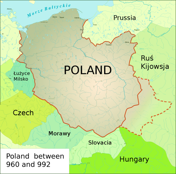 FilePoland Historical Map AD Png Wikimedia Commons - Poland map