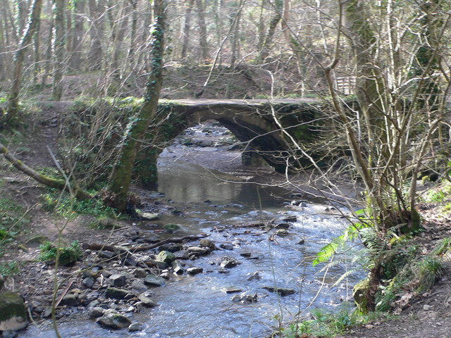 Pont Aber, Wepre Park - geograph.org.uk - 709477