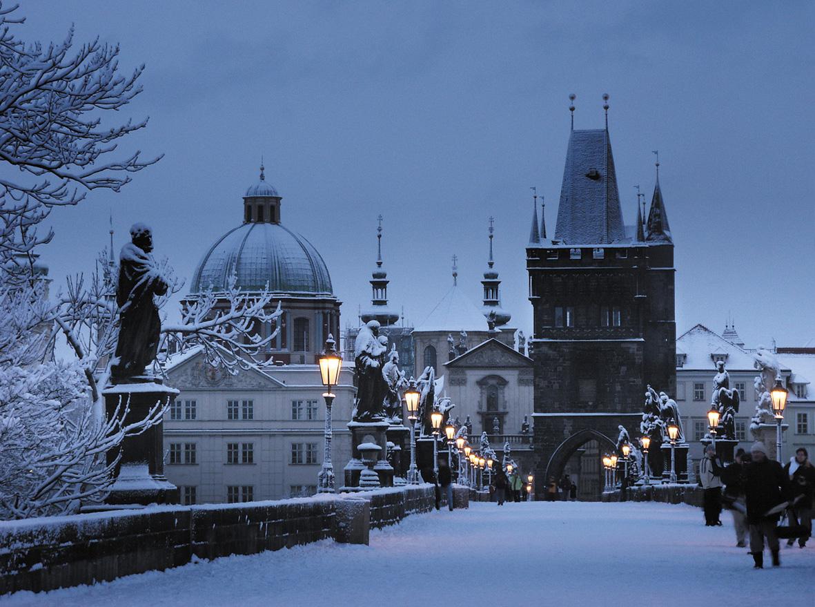 Praga, una de las mejores ciudades en invierno
