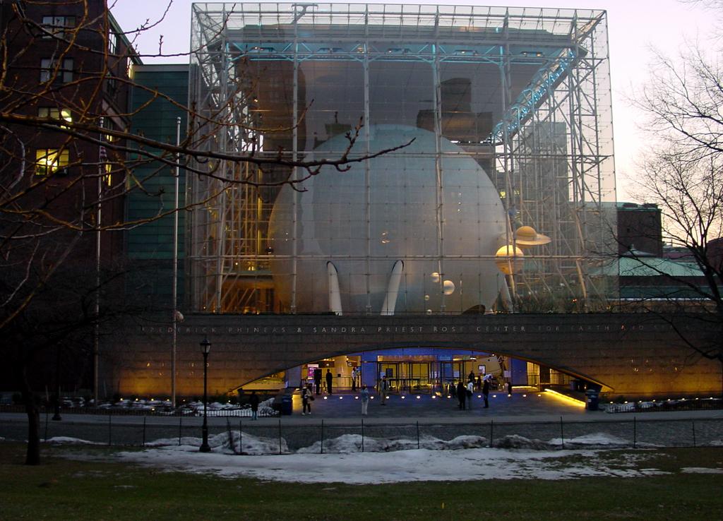 Rose Center Planetarium