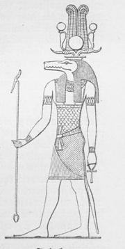 Dios egipcio Sobek