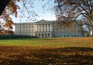 Norway. - Royal Palace of Norway in Oslo