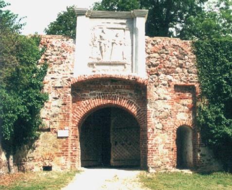 Burg Spantekow Torhaus
