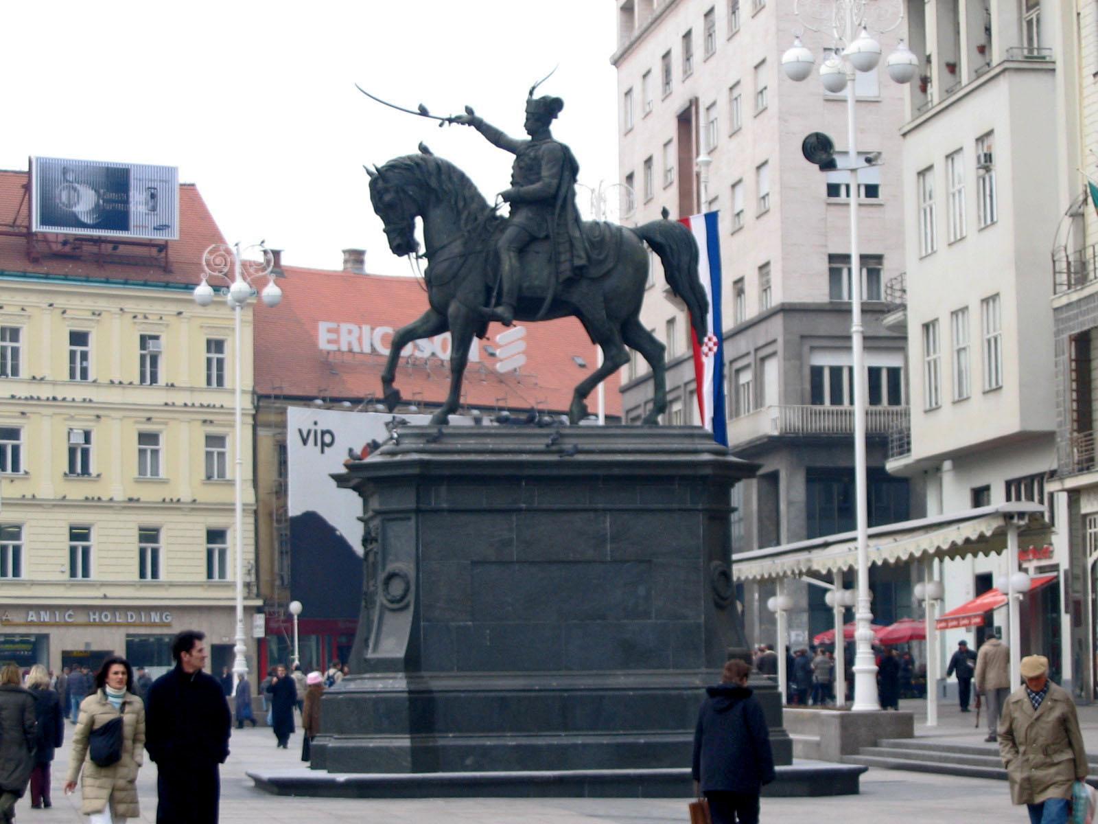 File Spomenik Ban Josip Jelacic Zagreb 06 Jpg Wikimedia Commons