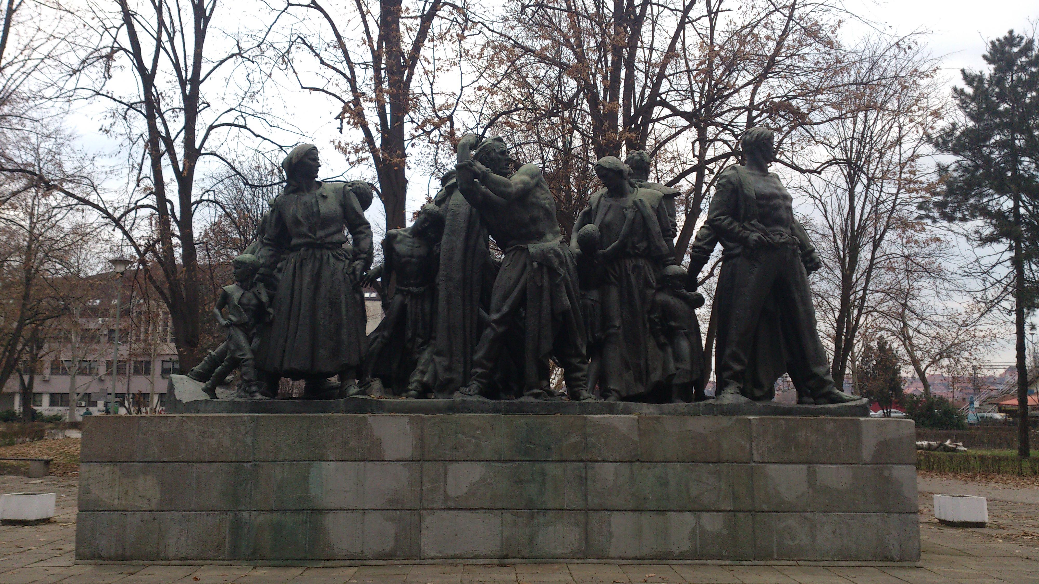 File Spomenik Otpora I Stradanja Kraljevo Jpg Wikimedia Commons