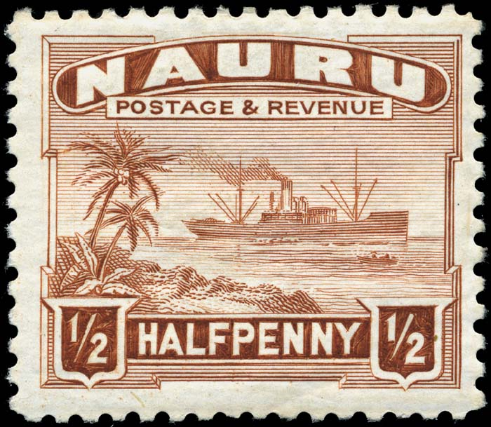 Postage Stamps And Postal History Of Nauru